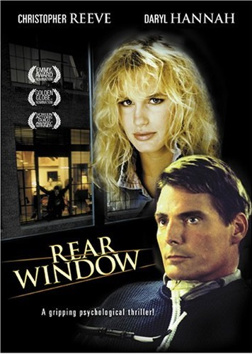 a description of the rear window which works extremely well as a suspense thriller